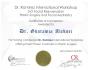 Сертификат о прохождении обучения у Оскара Рамиреса