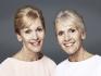 Сестры Гай (прошла через процедуру) и Зоуи, 63 года