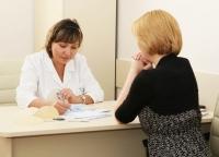 Гульнара Шах консультирует пациентку