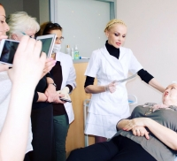 Галина Хрущ проводит мастер-класс
