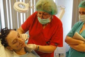 Пластический хирург Ирина Хрусталева на мастер-классе